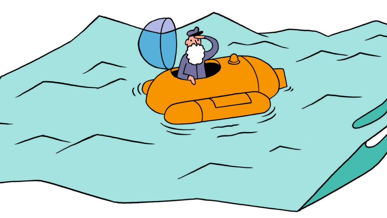 Axel Hacke über Müll im Meer