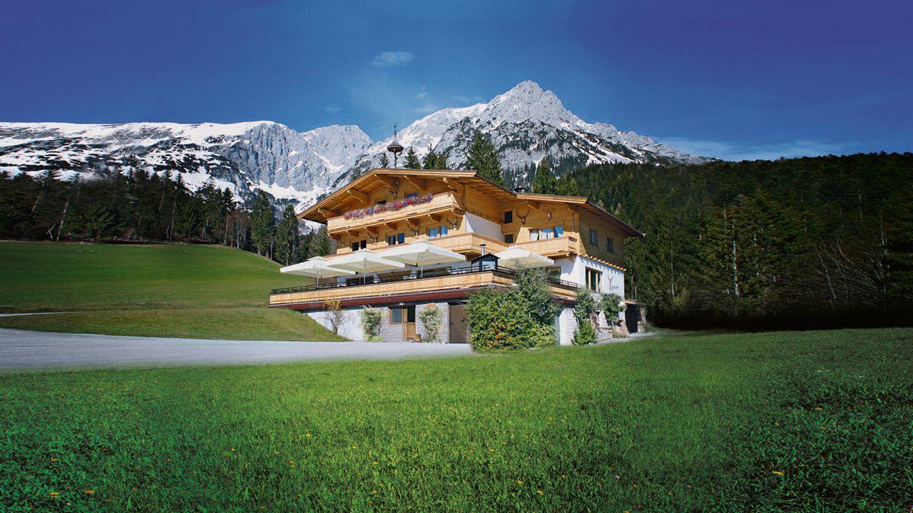 Hoteltipp: Der Gasthof »Jägerwirt« am Wilden Kaiser