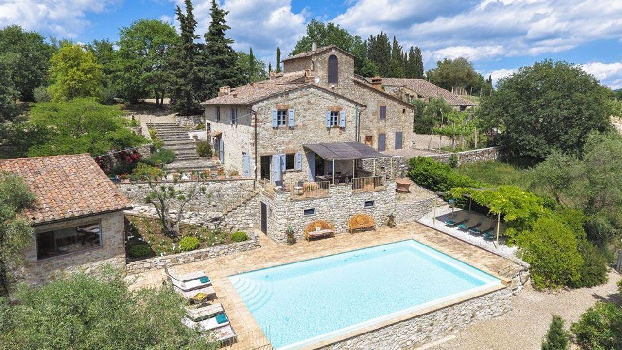 Hotel Europa: »Villa Valliole« - Toskana, Italien