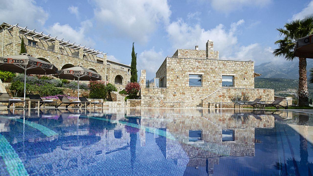 Das »Anaxo Resort« in Griechenland
