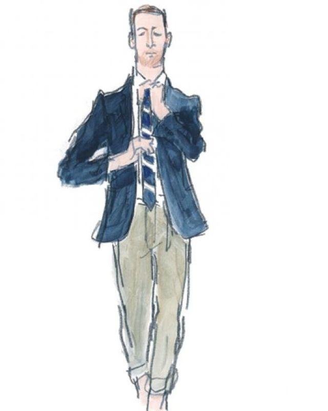 new concept ad5de 08951 Krawatte im Büro – ja oder nein? - SZ Magazin