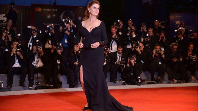 Susan Sarandon bei den Filmfestspielen in Venedig SZ Magazin
