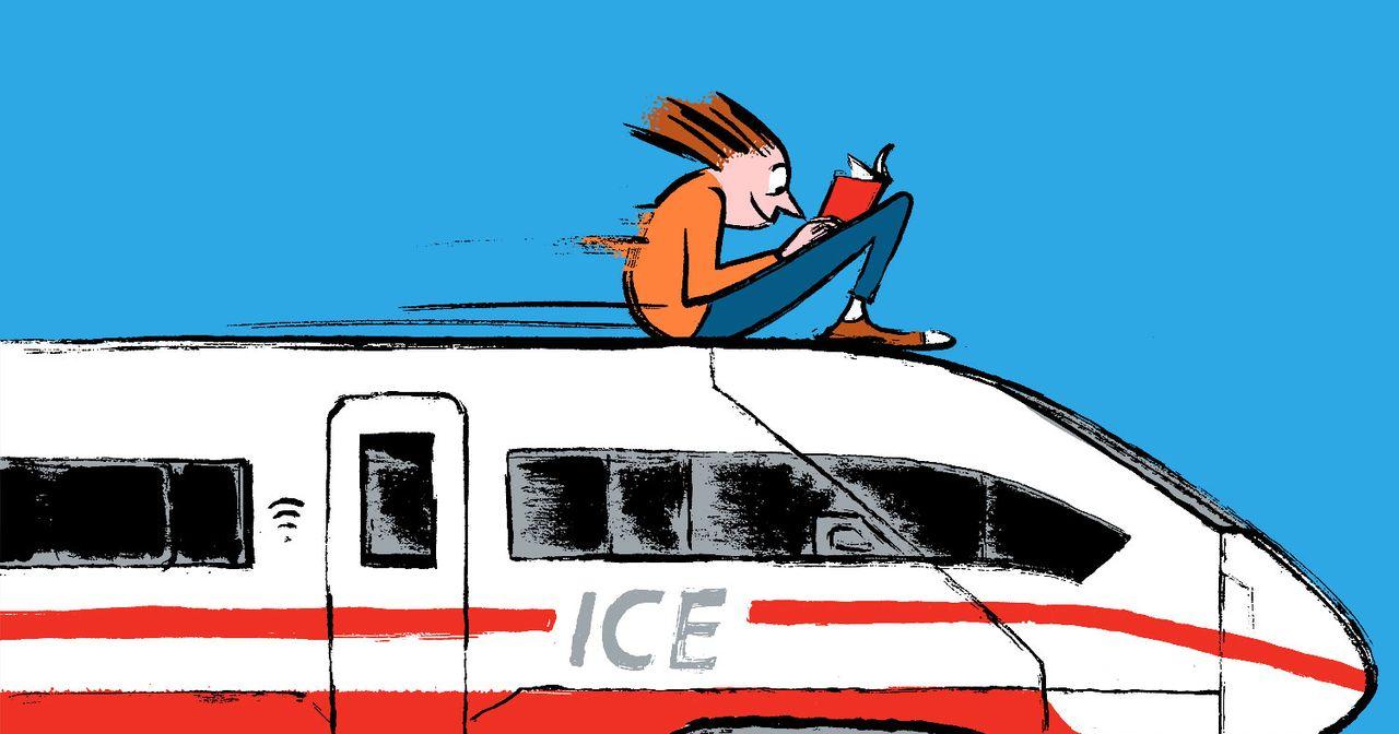 Über die Auslastungsanzeige der Bahn