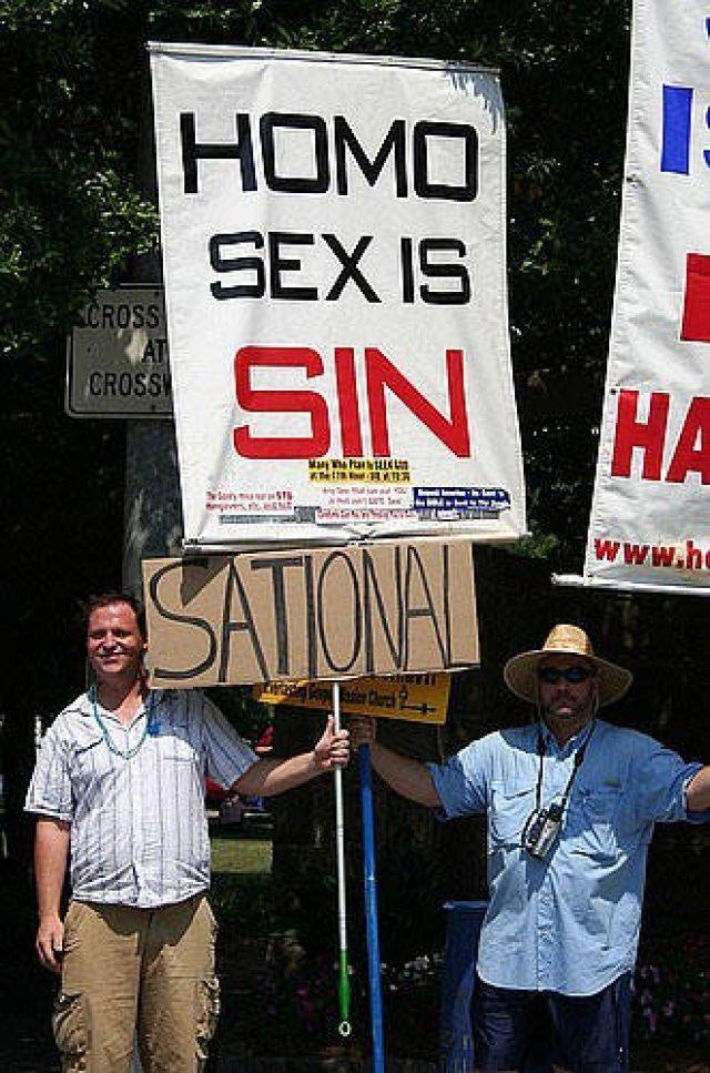 In Den Usa Wehren Sich Homosexuelle Gegen Feindliche