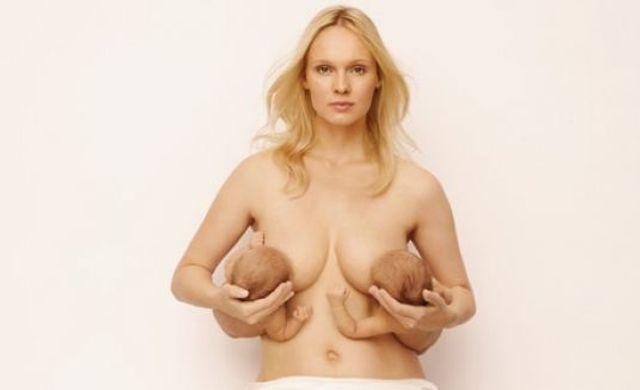 Frauen mit wirklich langen Nippeln