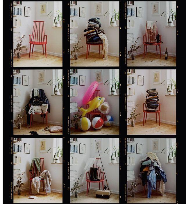 Der Klamottenstuhl im Schlafzimmer - eine Liebeserklärung ...