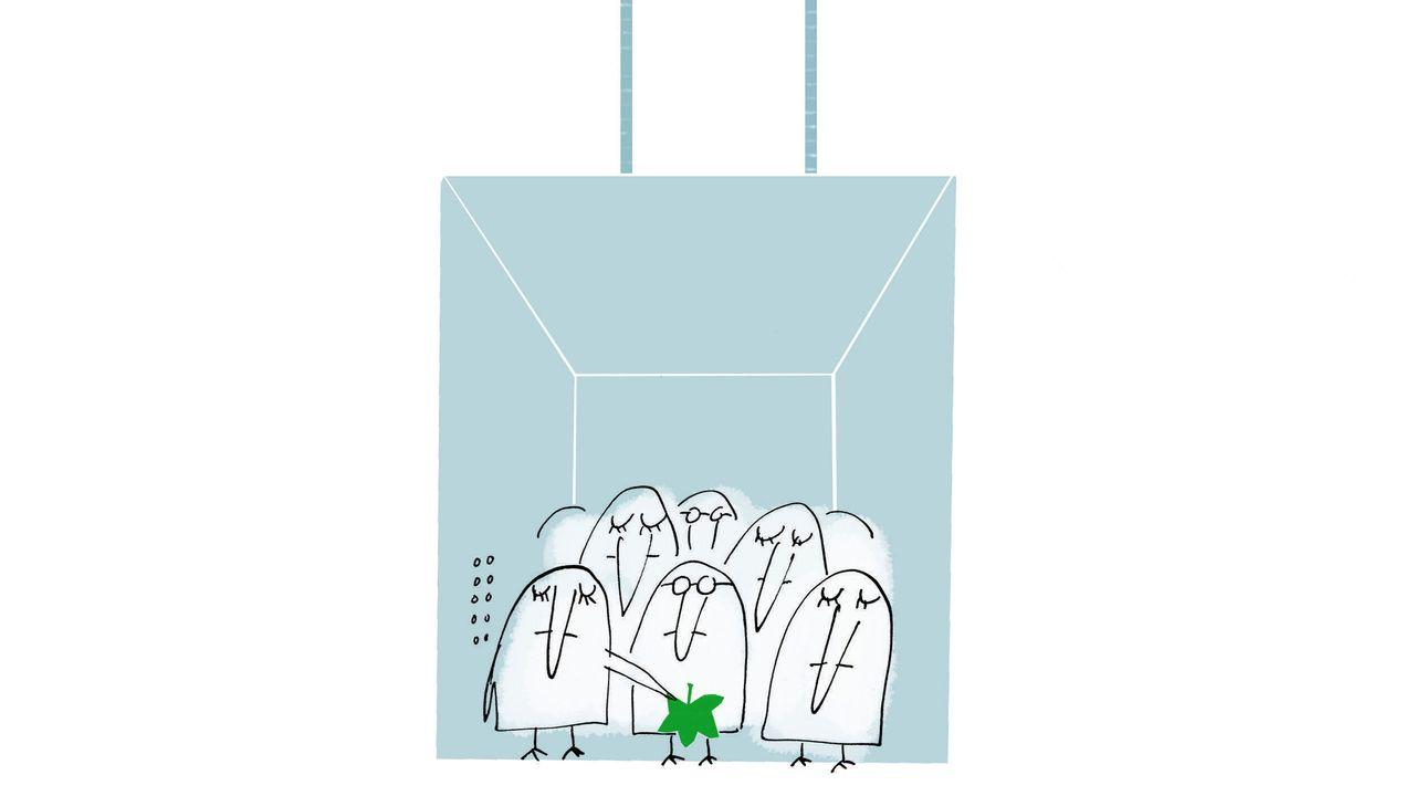 Soll man jemanden auf den offenen Hosenstall hinweisen? - Süddeutsche Zeitung Magazin